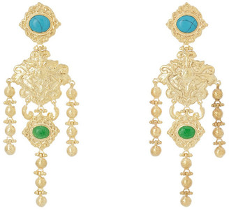 CHRISTIE NICOLAIDES Angelique Turquoise Earrings