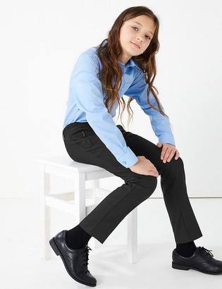Marks and Spencer Girls' Slim Leg School Trousers