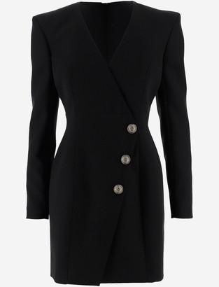 Balmain Short Tight-Fitting Women's Dress