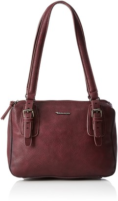Tamaris Hayden Womens Shoulder Bag Rot (Vino) 11x22x22 cm (B x H T)