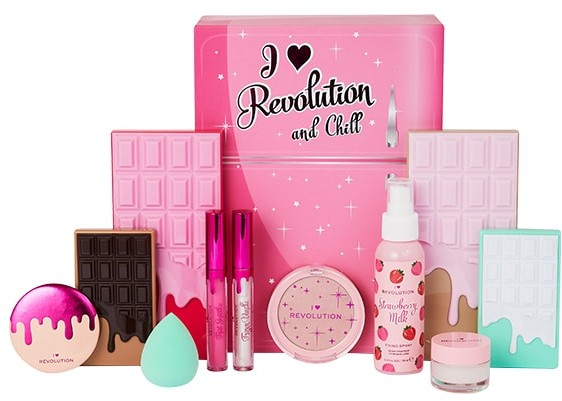 I Heart Revolution I Heart and Chill Revolution Makeup Set