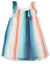 Chloé Little Girl's & Girl's Mini Me Tassel Silk Dress