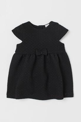 H&M Glittery jersey dress