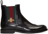 Gucci Black Strand Chelsea Boots
