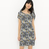 Suncoo Short Printed Dress with Short Sleeves