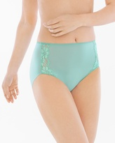 Soma Intimates Microfiber with Lace Modern Brief