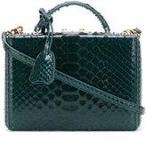 Mark Cross Grace small box clutch - women - Python Skin - One Size