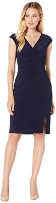 Lauren Ralph Lauren Aideena Dress (Lighthouse Navy) Women's Clothing