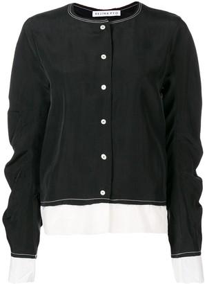 REJINA PYO Contrast Stitching Shirt