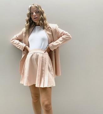 Fashion Union Petite tailored pleated skirt co-ord
