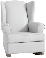 Pottery Barn Kids Wingback Convertible Leather Rocker