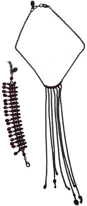 Reminiscence Black Metal Jewellery sets