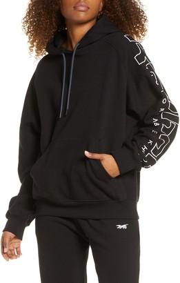 Reebok x Victoria Beckham Logo Sleeve Hoodie