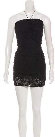 8d3f3b66e36aa Dolce & Gabbana Black Zip Front Dresses - ShopStyle