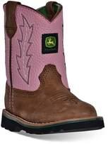 John Deere Toddler Girls' Pull-On Boots