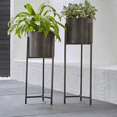Crate & Barrel Dundee Floor Planters