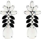 Tom Binns Veil Of Shadows Resin & Crystal Earrings