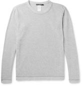 Issey Miyake Men - Mélange Cotton-blend Bouclé Sweatshirt