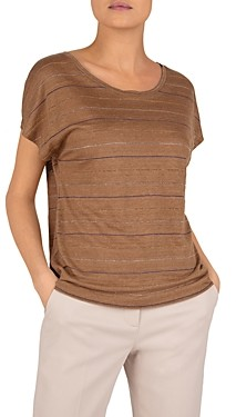 Gerard Darel Julie Metallic Striped Top