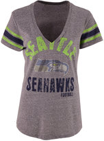 G3 Sports Women's Seattle Seahawks Any Sunday Rhinestone T-Shirt