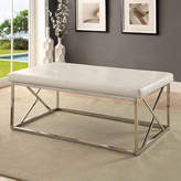 Asstd National Brand Jonas Contemporary Tufted Bench