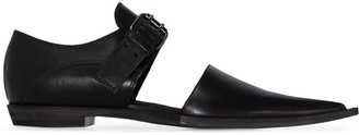 Haider Ackermann Cut-Out Detail Loafers