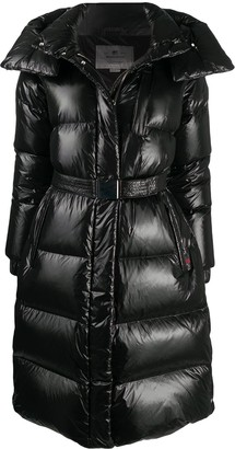 Woolrich Quilted Mid-Length Down Coat