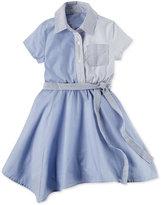 Carter's Handkerchief-Hem Cotton Shirtdress, Toddler Girls (2T-4T)