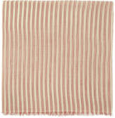 Isabel Marant Ecru and Red Striped Woody Scarf