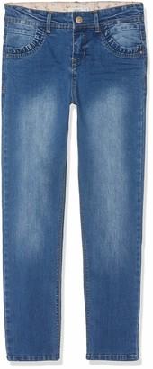 Name It Girl's Nkfbecky Dnmtereza 2164 Hw Pant Jeans