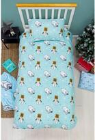 Thumbnail for your product : Minecraft Polar Bear Christmas Single Duvet Cover Set