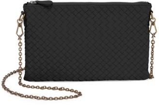 Bottega Veneta Chain Leather Clutch