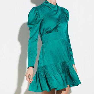 Sandro Jacquard short dress
