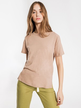 Nude Lucy Atwood Slouchy T-Shirt in Mocha