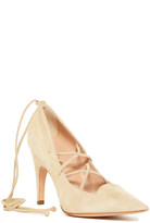 Derek Lam Opera Suede Lace-Up Pump