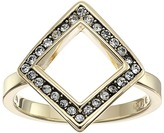 Cole Haan Open Diamond Crystal Ring
