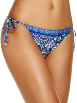 Laundry by Shelli Segal Pretty Partridge Side Tie Bikini Bottom