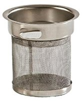 Price and Kensington 2-Cup Teapot Filter, Stainless Steel, Silver,
