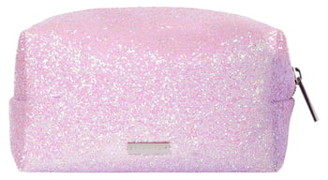 Skinnydip Skinny Dip Pink Glitsy Makeup Bag