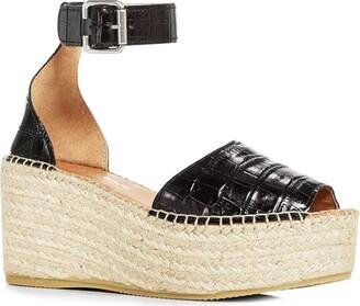 Andre Assous Luz Platform Wedge Espadrille Sandal