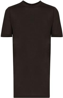 Rick Owens long-line crewneck T-shirt