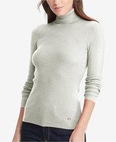 Lauren Ralph Lauren Ribbed Turtleneck Sweater