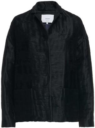 Nemozena Cropped Boxy Jacket With Belt