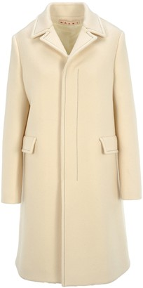 Marni Single-Breasted Concealed Button Coat