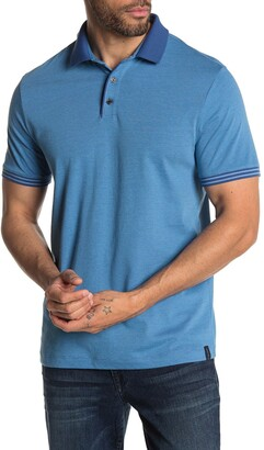 Perry Ellis Stripe Cuff Polo