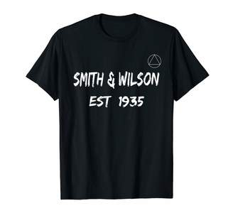 Wilson Sobriety Clean And Sober Aa Na Gifts Smith & Est 1935 AA Founders T-Shirt