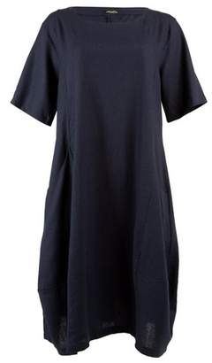 Dorothy Perkins Womens *Feverfish Navy Linen Pocket Dress, Navy