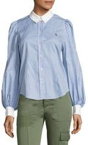 Marc Jacobs Striped Button Front Shirt