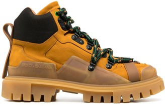 Dolce & Gabbana Ridged Sole Trekking Boots