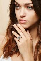 Forever 21 Amber Sceats Thunderball Ring